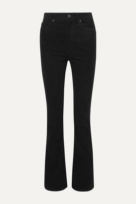 Citizens of Humanity Georgia Cotton-corduroy Bootcut Pants - Black