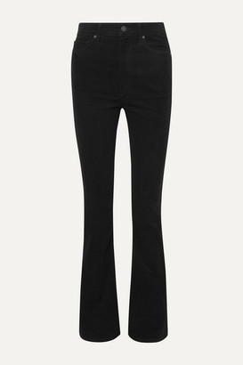 Citizens of Humanity Georgia Cotton-corduroy Bootcut Pants - Black