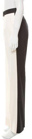 Preen Colorblock Virgin Wool Pants w/ Tags