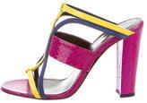 Oscar de la Renta Lonni Slide Sandals w/ Tags