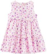 Osh Kosh 2-Piece Tiered Ruffle Floral Print Dress