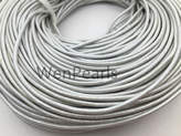 Etsy 2mm Sliver Gray Leather Cord,1 yard,5 yards,10 yards,round leather cord,DIY leather cord,LC2-103