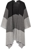Madeleine Thompson Ingelby Color-block Cashmere Wrap - Gray