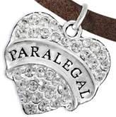 Cardinali Jewelry Paralegal Adjustable Heart Charm Bracelet ©2016 Hypoallergenic, Safe, Nickel, Lead, & Cadmium Free!