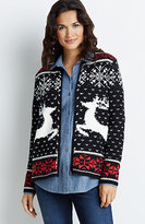J. Jill Deer Valley Cardigan