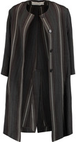 Marni Striped wool coat