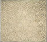 Nalbandian 9'9x9'1 Hapi Flat-Weave Rug, Gray