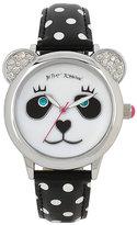 Betsey Johnson Betseys Holiday Perfect Panda Watch