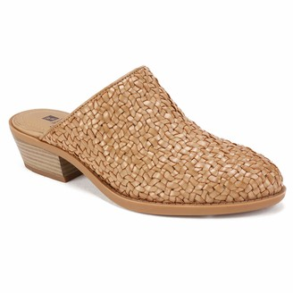 White Mountain Shoes DIXSON Women's Mule DK Sand/Burnished/SM 9 M