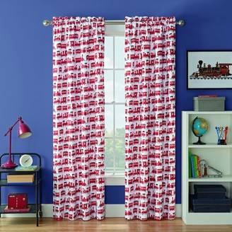 Waverly Kids Express Train Blackout Window Curtain