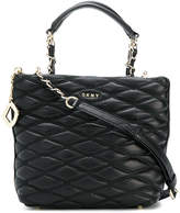 DKNY quilted tote bag