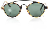 L.G.R Brown Song Matte Havana Tartarugato Green G15 Sunglasses New $345