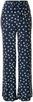 P.A.R.O.S.H. butterfly print trousers