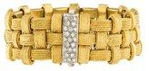 Roberto Coin 18K Diamond Three Row Link Bracelet