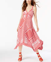 INC International Concepts Petite Patchwork-Print Dress, Created for Macy's