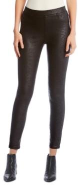 Karen Kane Faux-Leather Skinny Pants