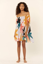 Mara Hoffman Off The Shoulder Mini Coverup Dress