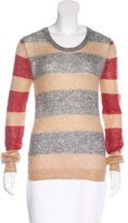 Thakoon Striped Long Sleeve Sweater
