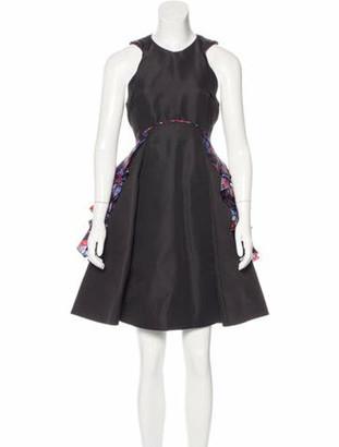Mary Katrantzou 2016 Berdella Dress w/ Tags Black