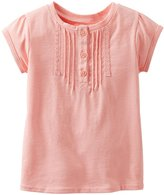 Carter's Lace Tee (Baby) - Ivory-3 Months