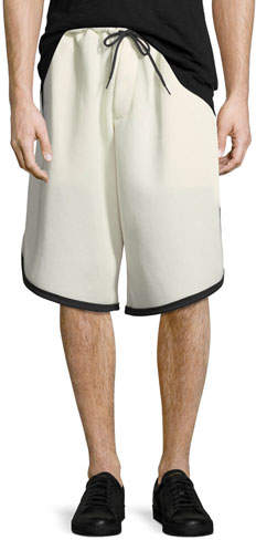 Y-3 Men's 3-Stripe Mesh Shorts