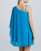 Erin Fetherston Erin by One-Shoulder Caftan Cocktail Dress