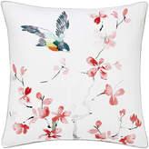 Sanderson Magnolia & Blossom Coral Bed Cushion