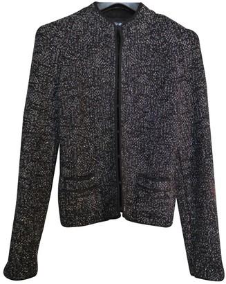 Georges Rech Grey Glitter Jacket for Women Vintage