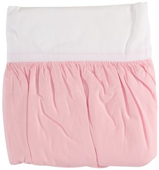 Tl Care Inc TL Care Pink Percale Crib Skirt Pack