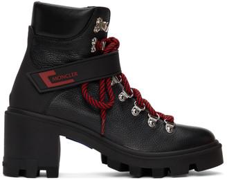 Moncler Black Carol Hiking Boots