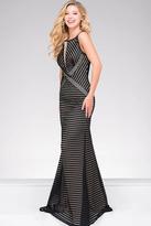 Jovani Embellished Sleeveless Fitted Dress JVN48710