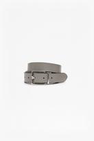 Reversible Leather Buckle Hip Belt