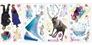 York Wall Coverings York Wallcoverings Frozen Peel and Stick Wall Decals