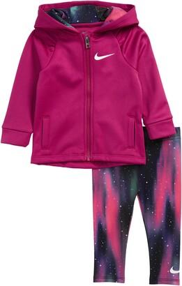 Nike Therma Fleece Zip Hoodie & Leggings Set