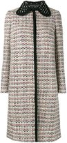Giambattista Valli tweed coat - women - Linen/Flax/Acrylic/Nylon/Virgin Wool - 42