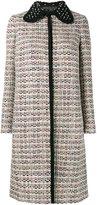 Giambattista Valli tweed coat - women - Virgin Wool/Nylon/Polyester/Rayon - 46