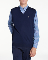 Polo Ralph Lauren V-Neck Sleeveless Jumper, French Navy