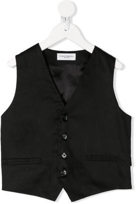 Paolo Pecora Kids Single Breasted Waistcoat