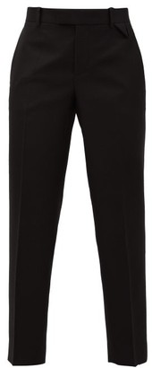 Bottega Veneta Tailored Wool-twill Trousers - Black