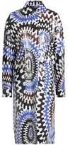 Emilio Pucci Coated Printed Raincoat