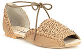 Free People Beaumont Woven Flats