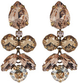 Sorrelli Crystal Lotus Flower Earrings
