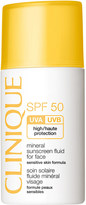 Clinique SPF50 Mineral Sunscreen Fluid For Face 30ml