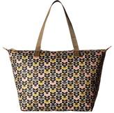 Orla Kiely Mini Wild Daisy Printed Zip Shopper Handbags