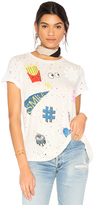 Lauren Moshi Bess Love & Smile Tee