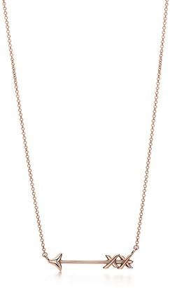 Tiffany & Co. Paloma's Graffiti arrow pendant in 18k rose gold, small