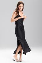 Josie Natori Lolita Long Gown with Slit