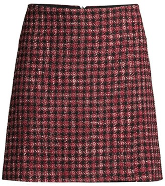 BOSS Veljara Tweed A-line Skirt