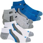 Puma Half Terry Socks - 6-Pack, Below the Ankle (For Big Boys)