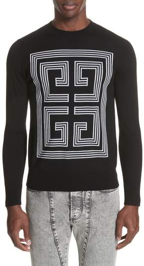 Givenchy 4G Intarsia Wool Sweater